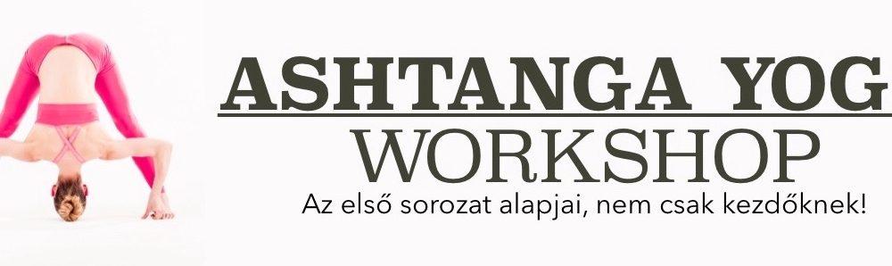 Ashtanga workshop 03.09-én,9:00-12:00-ig